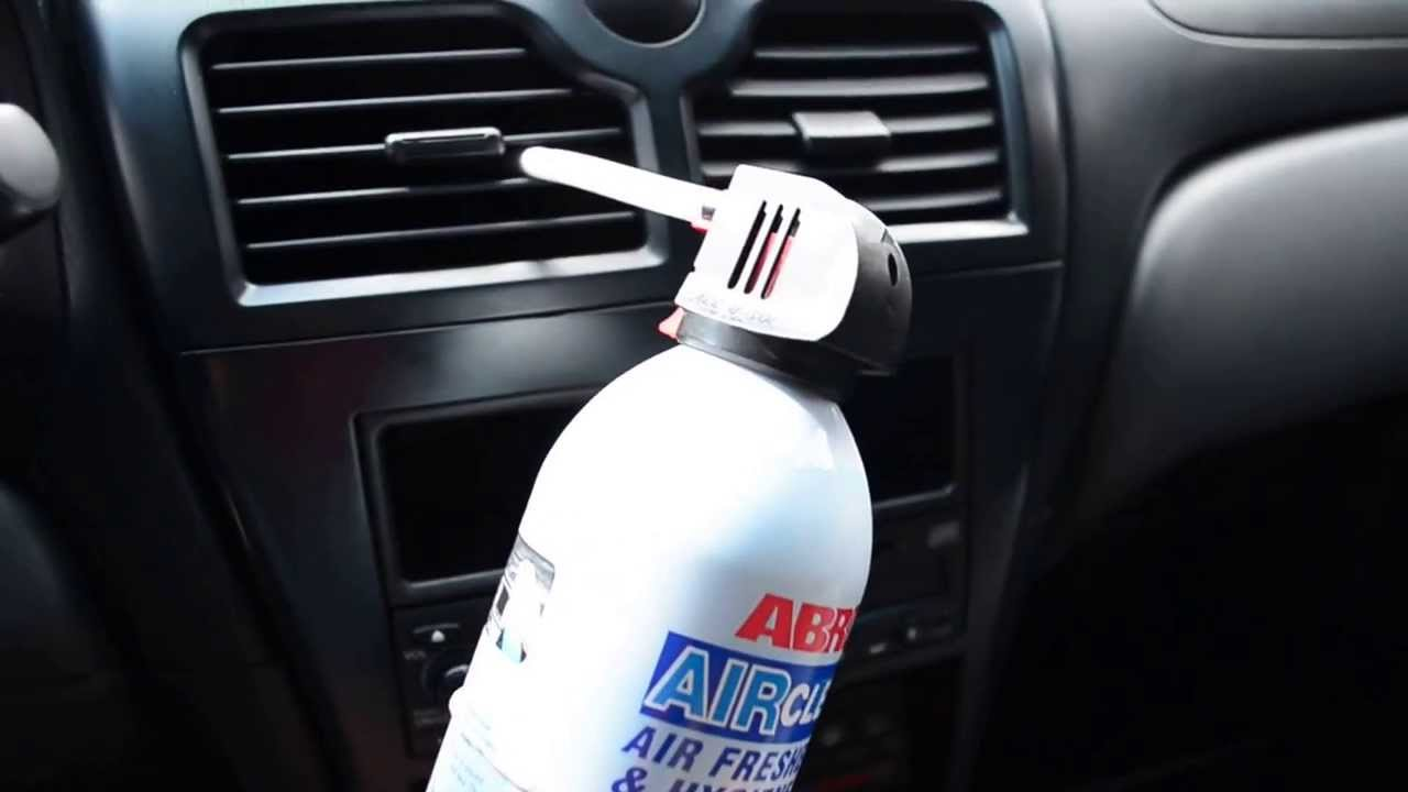 Очистка автокондиционера через воздуходувы