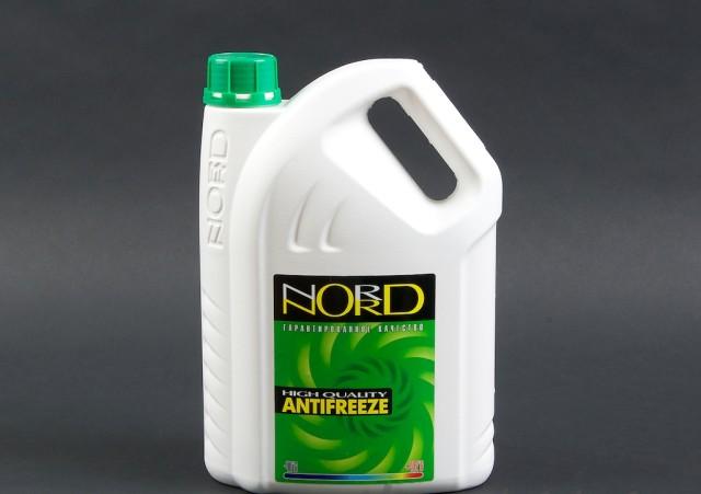 Антифриз Норд зеленого цвета