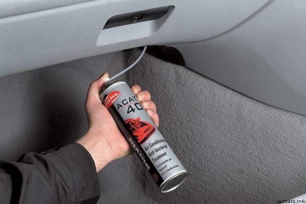 Средство для очистки автомобильного кондиционера
