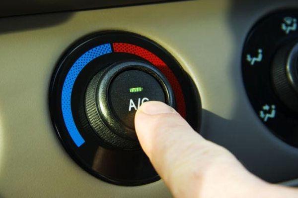 Фото кнопки включения автокондиционера