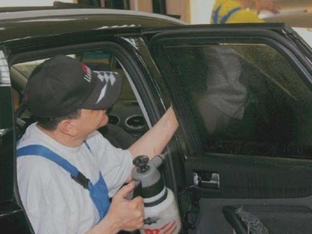 Химическое тонирование стекла в домашних условиях