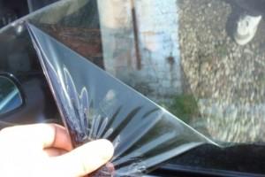 Снятие пленки с переднего стекла