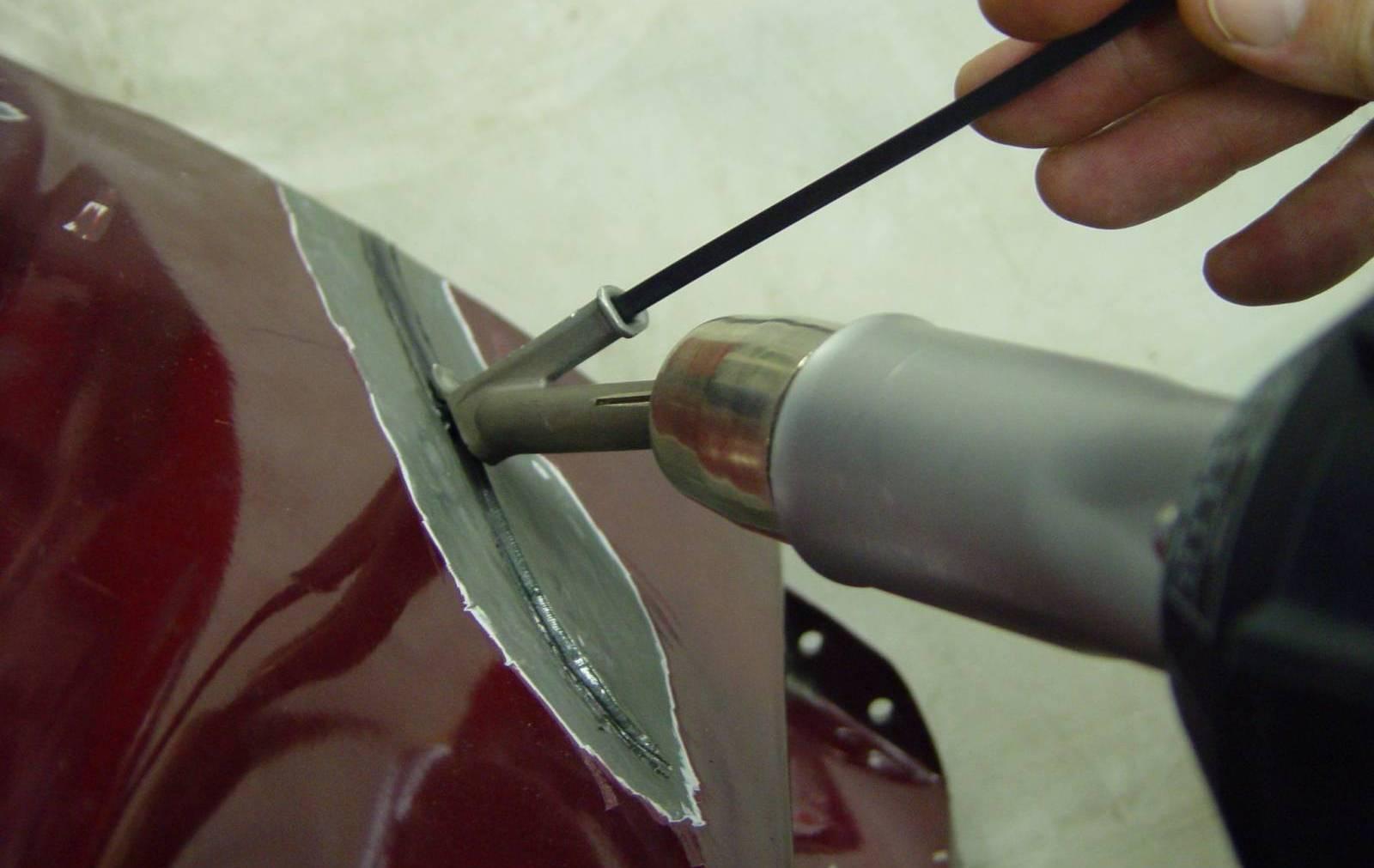 Ремонт бампера автомобилей своими руками