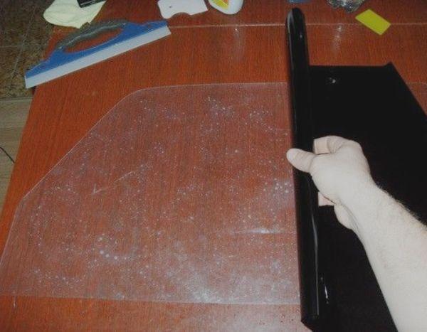 Как сделать двойную тонировку своими руками