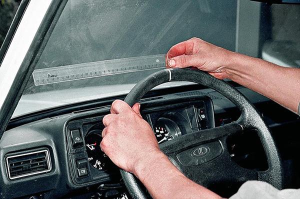 Проверка состояния рулевого управления