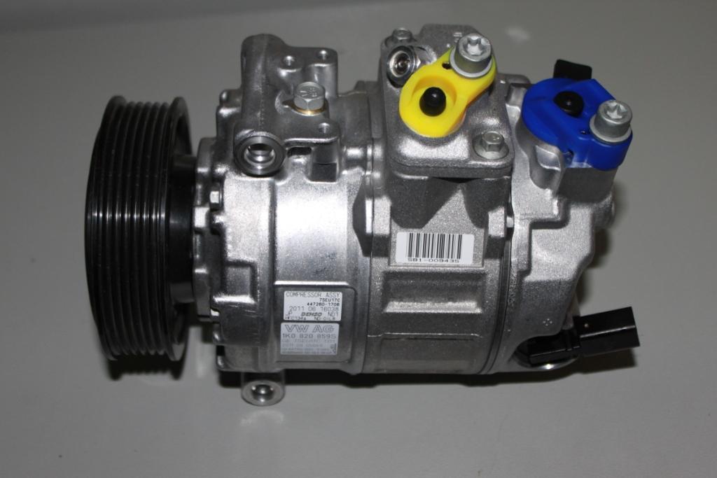 Фото компрессора автомобильного кондиционера