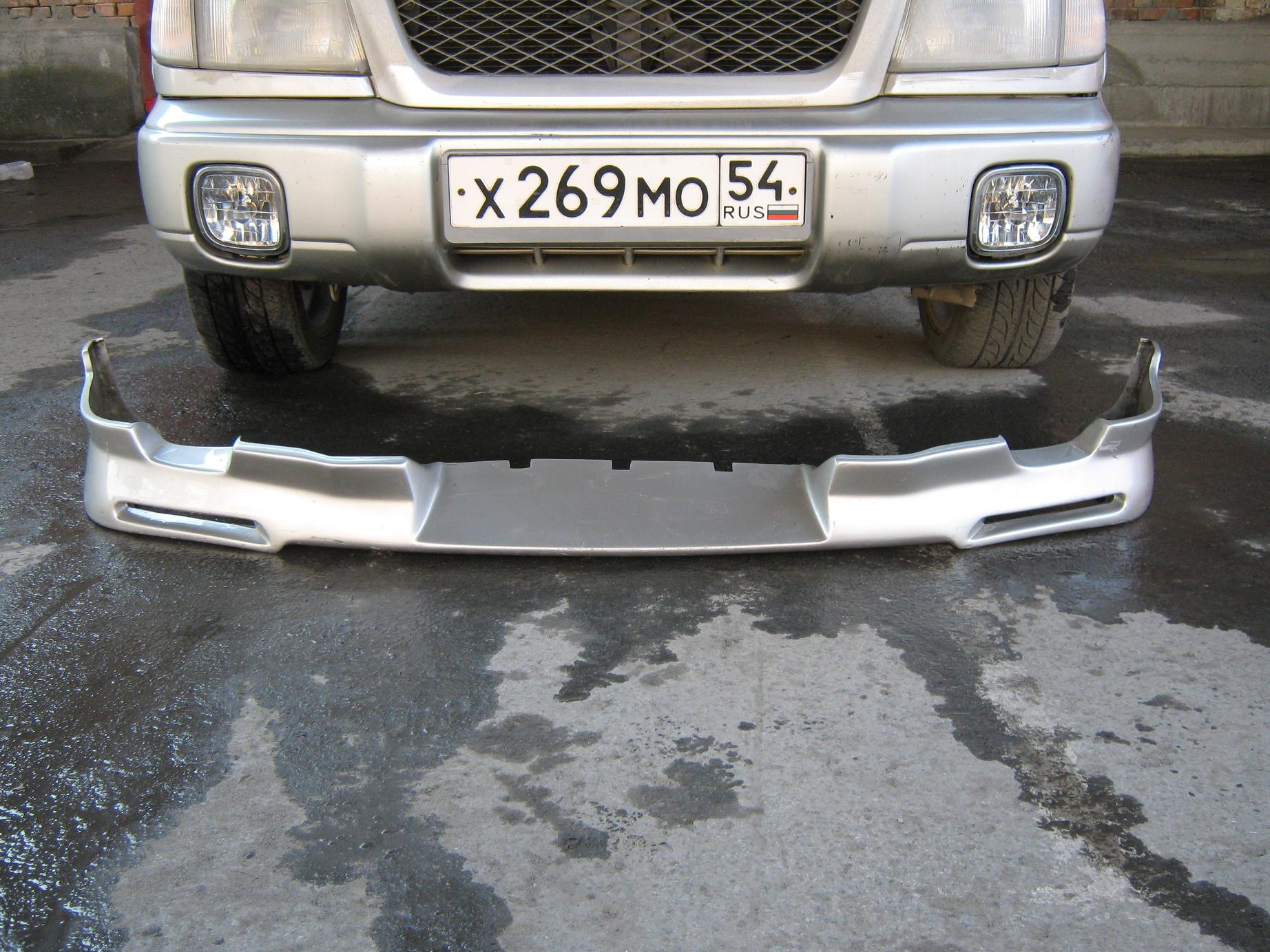 Perednyaya guba pod bamper 001 - Установка губы на бампер