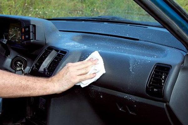 Полировка пластика салона авто