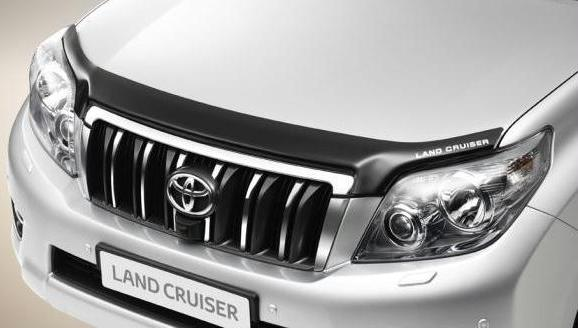 Land Cruiser PRADO с отражателем