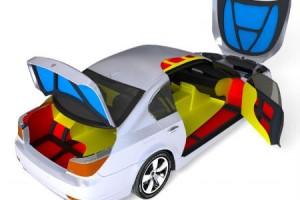 Необходимые части авто под шумоизоляцию