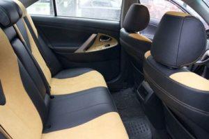 Перетянуть сиденья в авто можно самостоятельно