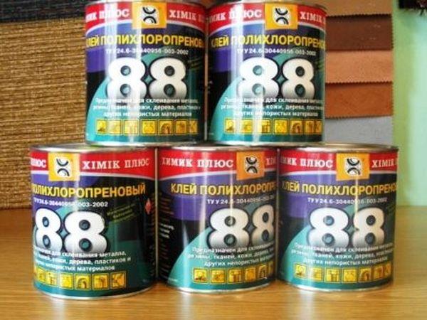 «Клей-88» – применяется практически для любых материалов